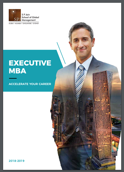 Brochure - Online Executive MBA 2018-2019