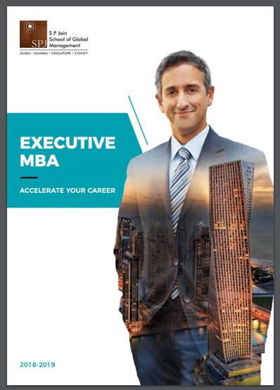 download online executive mba brochure sp jain school of global